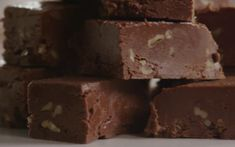 Rich and creamy fudge with the satisfying crunch of chopped walnuts.