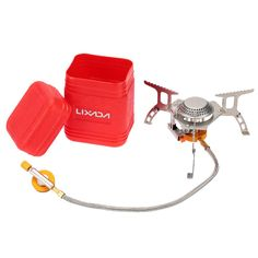 Boruit Mini Camping Stoves Folding Outdoor Gas Stove Portable Furnace Cooking Picnic Split Stoves Cooker Burners Great Varieties Sports & Entertainment Campcookingsupplies