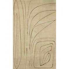 Edward Fields, Hand-Tufted Wool Whispering Carpet, 1969.