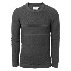 EMILIO - Dennis structure sweater #MQ #Mqfashion Jumpers, Men Sweater, Pullover, Sweaters, Fashion, Moda, Fashion Styles, Jumper, Men's Knits