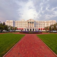The Greenbrier Resort.  Truly a must place to stay. So many memories with my family!