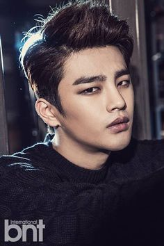 Modelling has certainly become part of his career path now......because he is so handsome.  Seo In-guk is a South Korean singer and actor. He launched his singing career after winning the talent reality show Superstar K in 2009, and made his acting breakthrough in the 2012 cable TV series Reply 1997.