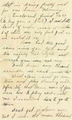Antique Images: Free Printable Background: Handwritten Background of Vintage Letter