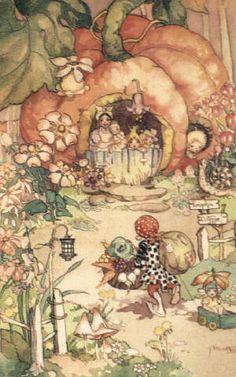 Peg Maltby ❤•♥.•:*´¨`*:•♥•❤ Pumpkin Cottage.