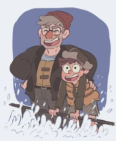 Reunion Falls AU - a gravity falls au in which mabel and dipper were separated…
