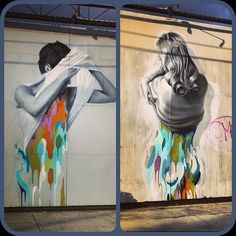 awesome street art in Miami!
