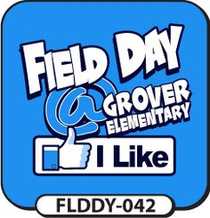 This Facebook themed custom field day t-shirt design will really get people talking! We'll use your own colors and information to make a design you will definitely like! spiritwear.com