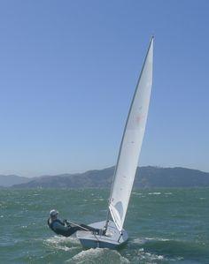my fifth #sail - #laser