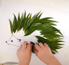Original Autumn Crafts - # Original Autumn Crafts - # This image has . - Fall Crafts For Kids Autumn Crafts, Nature Crafts, Summer Crafts, Preschool Crafts, Crafts For Kids, Arts And Crafts, Paper Crafts, Leaf Animals, Leaf Crafts
