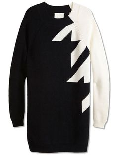 3.1 Phillip Lim  Excited for winter sweaters. And I love black and white!!