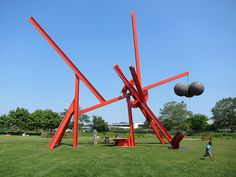 Governors Island - Mark di Suvero exhibition