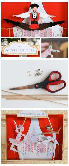 Nutcracker Suite Puppet Theater - printable kit