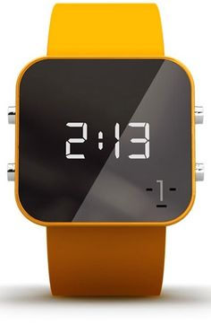 Free shipping and returns on 1:Face 'Education' Square Digital Silicone Strap Watch, 38mm at Nordstrom.com. One person has the power to change the world, and this square digital watch lets you do just that. Pick a cause and watch the profits from your purchase affect global change.