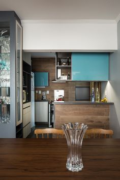 Construindo Minha Casa Clean: Cozinhas abertas para sala - veja 7 ideias de como…