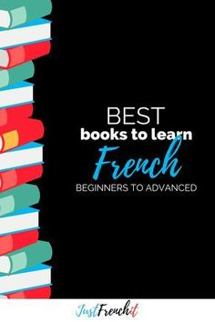 What are the best books to learn French for beginners? the best French books for intermediates? the best French books for advanced? I'm telling you how to read in French. Learn French Beginner, Learn French Fast, Learn To Speak French, French For Beginners, Language Study, French Language Learning, Language Lessons, Learn A New Language, Foreign Language