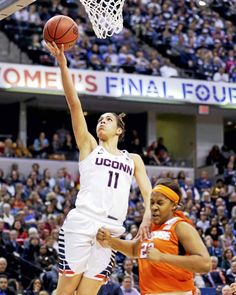Kia Nurse, a member of UConn's national championship teams in her first two collegiate seasons, was one of 12 players named to the Canadian Olympic women&