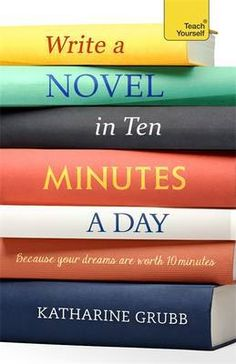Want to learn how to write your first novel – but crunched for time? You should pick up a copy of Write a Novel in Ten Minutes a Day by Katharine Grubb. Grubb walks you through the entire pr… Writing Genres, Fiction Writing, Writing Advice, Writing A Book, Writing Prompts, Start Writing, Write Every Day, Write Online, Teaching Writing