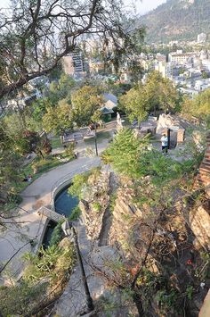 Cerro Santa Lucía is a small hill in downtown Santiago. It borders on Alameda del Libertador Bernardo O'Higgins in the south Santa Lucía St in the west and Victoria Subercaseaux. Santa Lucia Hill has an altitude of 629m and a height of 69m. It has a surface of 65.300m2. Adorned previously with ornate facades, stairways, and fountains, today an adjacent metro station is named for it. Atop the hill, there is a vista point unsurpassed inside Santiago except by Cerro San Cristóbal…