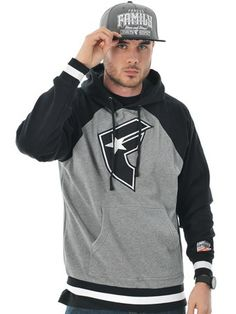 Famous Stars and Straps Heather Grey Heater Hoody | Famous Stars and Straps | FreestyleXtreme