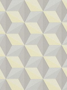 Papier peint Cube jaune - Life 3 - AS Creation - clicjedecore Patterns In Nature, Of Wallpaper, Decoration, 3 D, Creations, Life, 3 Online, Design, Shop