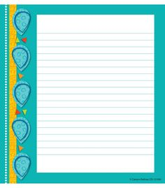 Teal Appeal Notes Notepad from Carson-Dellosa
