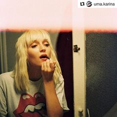#word 💋 . . #Repost @uma.karina (@get_repost) ・・・ I, as a teenager, was never really good at being a teenager. I am good at being a teenager as an adult now.  @hectorpozuelo . #whatyouwearishowyoufeel #women #empoweringwomen #rolemodels #berlin #instastyle #instamood #friyay
