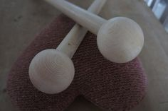 25mm x 50cm Knitting Needles with Ball Finial