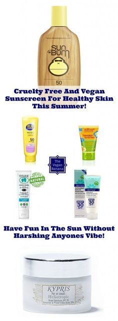 Cruelty Free And Vegan Sunscreen For Healthy Skin This Summer!