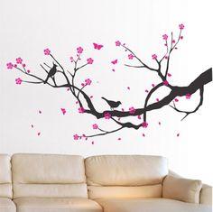 Αυτοκολλητο τοιχου Κερασια-Cherry Blossom