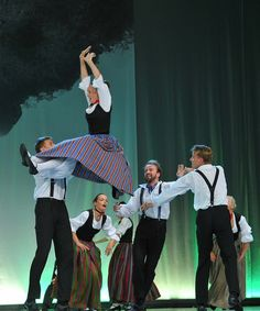 Latvia, 2013th. The Song and Dance Festival. Best Latvian dance groups