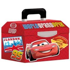 Amazon.com: Disney Cars 2 Party Treat Boxes 4ct: Toys & Games