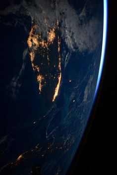 Looking down on Southern Florida (USA) from the ISS