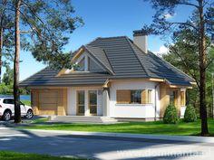 Gotowy projekt domu Reksio - wizualizacja 1