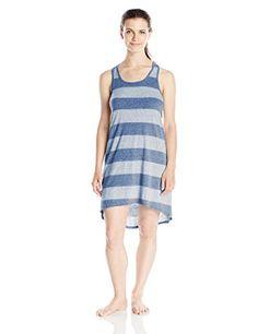 Bottoms Out Women's Striped Tank Cotton Nightgown, Navy/N... http://www.amazon.com/dp/B00VEF9K8S/ref=cm_sw_r_pi_dp_laukxb00QBB4K