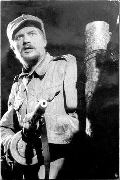 """Antero """"Antti"""" Rokka är en fiktiv person med framträdande roll i Väinö Linnas… My Wife And Kids, Tom Of Finland, Old Movies, Vintage Ads, Persona, Nostalgia, Military, War, Film"""
