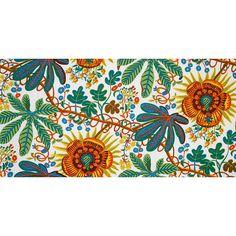 Josef Frank Designer Linen Fabric Aralia  0.5m 315g/m2 by fabeco, 149.00