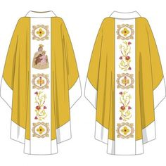 Church Fashion, Galo, Priest, Altar, 1, Virgin Mary, Towel, Drawings, Needlepoint