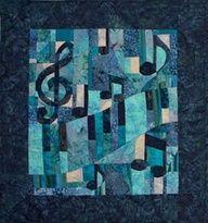 music quilt