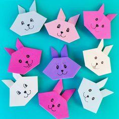 Origamihare – Hva skal vi lage Origami, Origami Paper, Origami Art