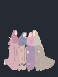 Cartoon Girl Images, Cartoon Art Styles, Cartoon Pics, Girl Cartoon, Friends Illustration, Illustration Art, Cover Wattpad, Mahal Kita, Hijab Drawing