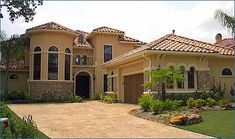 Luxury Style House Plans - 3732 Square Foot Home, 2 Story, 4 Bedroom and 4 3 Bath, 2 Garage Stalls by Monster House Plans - Plan 62-228