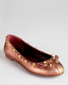Marc By Marc Jacobs Mouse Ballerina Flats in Pink (blush)