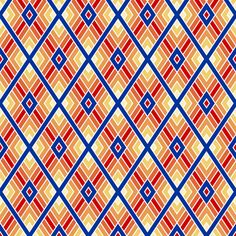 diamond fret : UK fabric by sef on Spoonflower - custom fabric