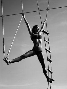 50 Years of Fashion's Sexiest Calendar: Gisele Bundchen, April 2006