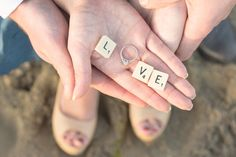 Love this wedding ring or engagement ring photo!!!