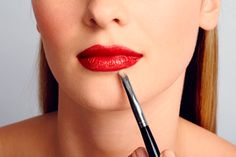 How to Keep Your Red Lipstick From Smearing