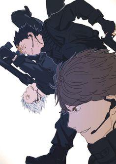 Haikyuu Funny, Haikyuu Manga, Haikyuu Fanart, Hot Anime Boy, Cute Anime Guys, Anime Love, Comic Anime, Manga Anime, Fanarts Anime