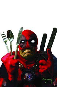 Art Vault — ungoliantschilde: Deadpool: Merc with a Mouth Vol.1 #10 by Arthur Suydam