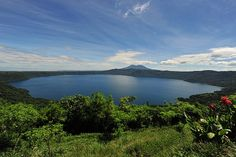 Laguna de Apoyo, Nicaragua. A clean, blue, and thermally vented 48-square kilomenter body of water contained inside the crater of the Apoyo Volcano. Laguna de Apoyo is one of Nicargua's most beautiful natural wonders. I remember swimming in the warm waters of the crater at sunset feeling so peaceful and so blessed to be witnessing such an amazing place. Friends from Nicaragua had a cabin on the lagoon that they let us stay in for the night. Unforgettable...