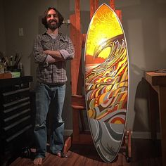 Surfboard design by Jay Alders